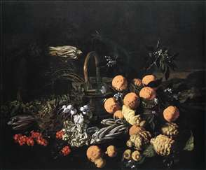 Still-life in a Landscape