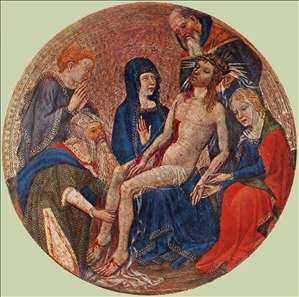 The Small Circular Pietà