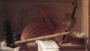 Still-Life of Musical Instruments