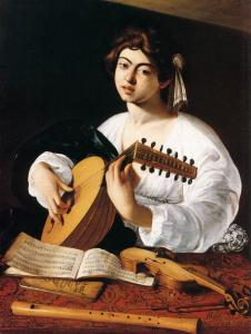 The Lute Player (detail)