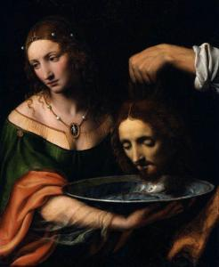 Salome with the Head of St John the Baptist