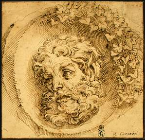 Head of a Faun in a Concave (roundel)