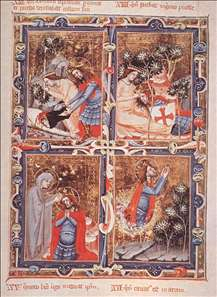 Legend of Saint Ladislas (from the Anjou Legendarium)