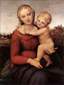 Madonna and Child (The Small Cowper Madonna)