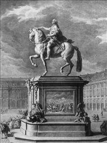 Equestrian Statue of Louis XV at Bordeaux