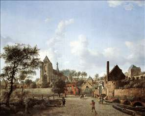 Approach to the Town of Veere