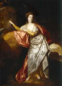 Portrait of Ann Brown in the Role of Miranda