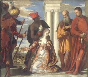 The Martyrdom of St. Justine