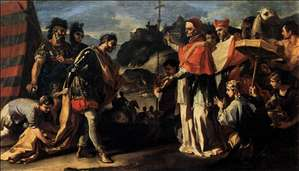The Meeting of Pope Leo and Attila