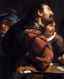 The Denial of St Peter (detail)