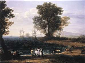 Coast Scene with the Rape of Europa