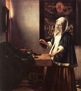 Johannes Vermeer: the Procuress and Woman Holding a Balance