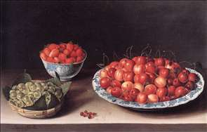 Still-Life with Cherries, Strawberries and Gooseberries