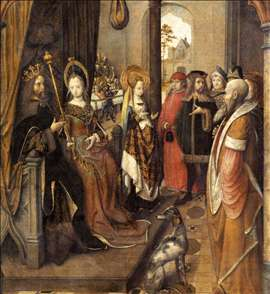 St Ursula Announces to her Father her Departure on a Pilgrimage to Rome