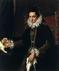 Portrait of Ginevra Aldrovandi Hercolani as Widow