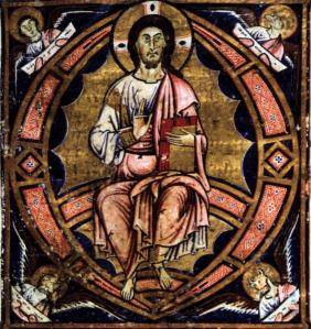 Christ in Glory with Symbols of the Evangelists