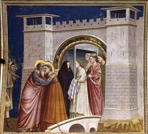 No. 6 Scenes from the Life of Joachim: 6. Meeting at the Golden Gate