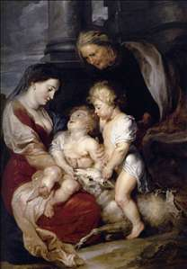 The Virgin and Child with St Elizabeth and the Infant St John the Baptist