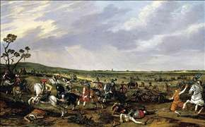Battle Scene in an Open Landscape