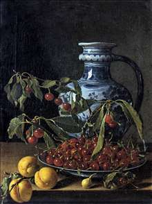 Still-Life with Fruit and a Jar