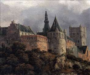 Bentheim Castle (detail)