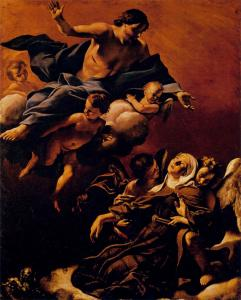 Ecstasy of St Margaret of Cortona