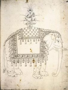 Sketch for the Trappings of an Elephant