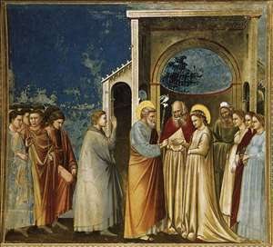 No. 11 Scenes from the Life of the Virgin: 5. Marriage of the Virgin