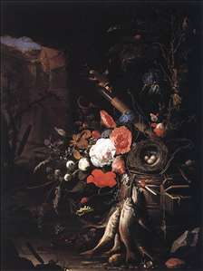 Still-Life with Fishes and Bird Nest