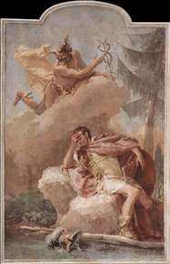 Mercury Appearing to Aeneas