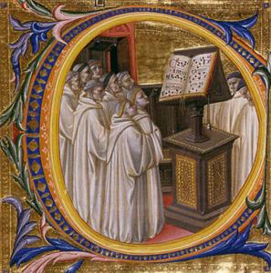 Camaldolese Friars in Choir