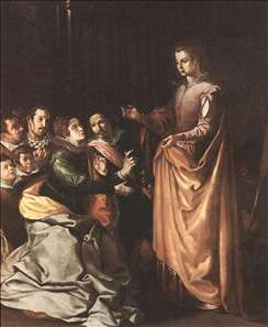 St Catherine Appearing to the Prisoners