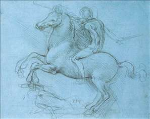 Study for the Sforza monument