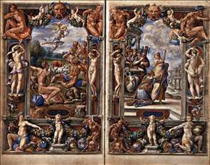Pages from the Farnese Hours