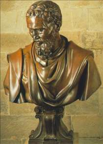 Bust of Michelangelo