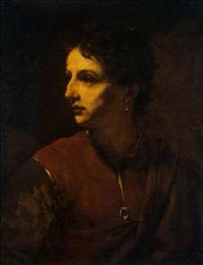 Portrait of a Young Man with an Earring