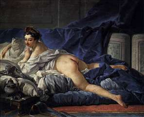 Brown Odalisque (L'Odalisque Brune)