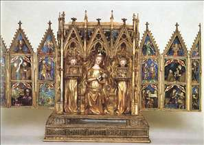 Home Altar of Queen Elisabeth