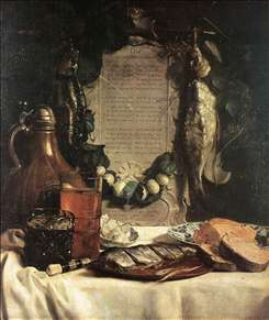 Still-Life in Praise of the Pickled Herring