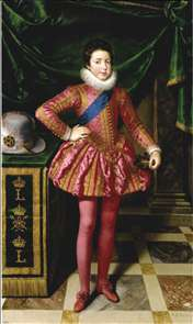 Louis XIII as a Child