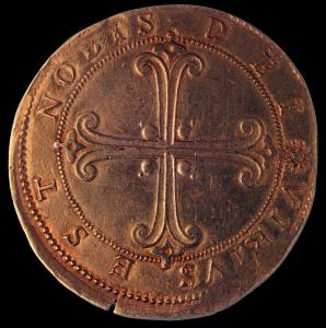 Gold Coin on Cosimo I (reverse)