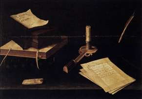 Still-Life with Candle
