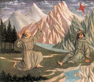 The Stigmatization of St Francis (predella 1)