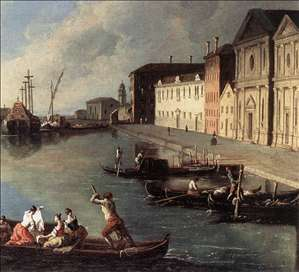View of the Giudecca Canal