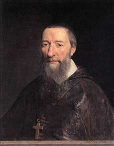 Portrait of Bishop Jean-Pierre Camus