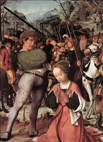 The Martyrdom of St Catherine