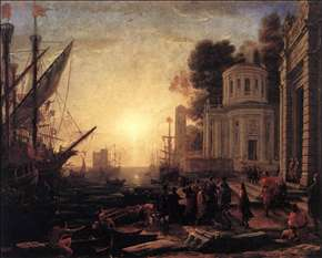 The Disembarkation of Cleopatra at Tarsus