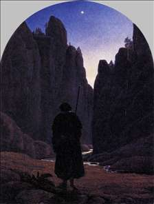 Pilgrim in a Rocky Valley