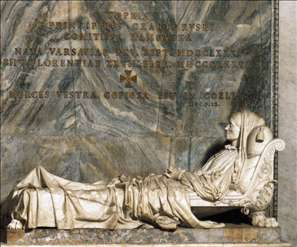 Tomb of Princess Sophia Zamoyska
