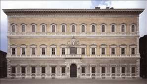 Façade of the Farnese Palace